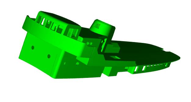 """MB """"Premuda"""" u crtežima CAD programa Zaslon13"""