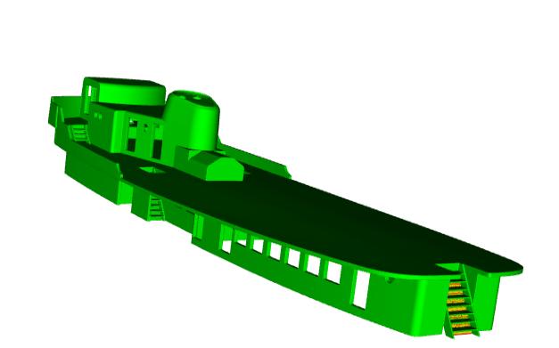 """MB """"Premuda"""" u crtežima CAD programa Zaslon15"""