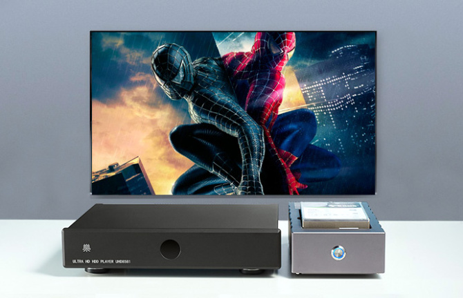 IPUK UHD8581 Reference 4K Ultra HD HDR Media Player 11794410