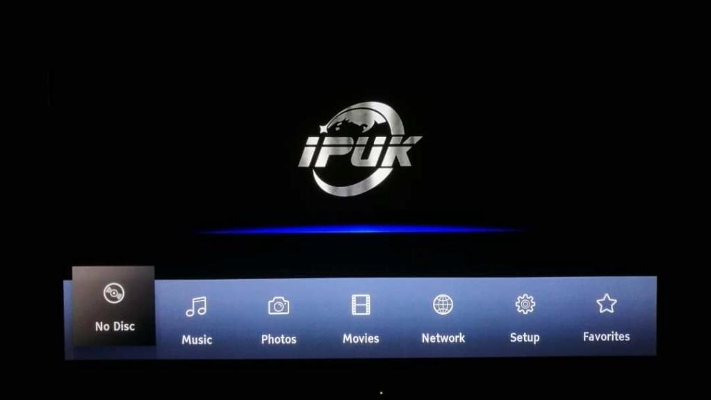 IPUK UHD8592 4K Ultra HD Bluray Universal Player 16786410