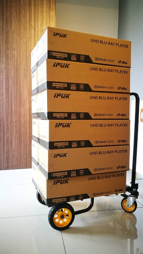 IPUK UHD8582 4K UltraHD 3D Bluray Universal + Harddisk Media Player 16803610
