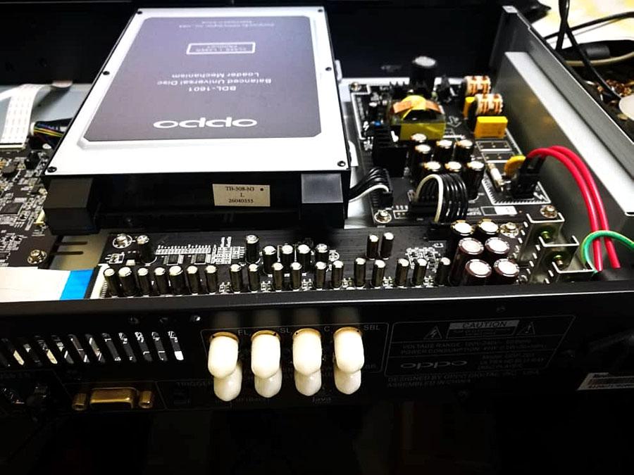 Linear Power Supply module upgrade  for OPPO UDP-203 203_ki10
