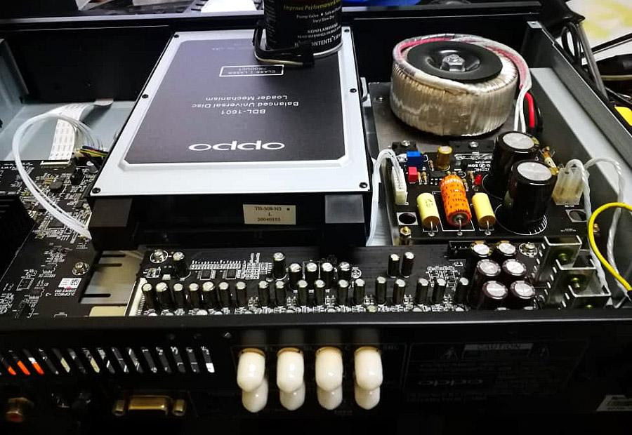 Linear Power Supply module upgrade  for OPPO UDP-203 203_ki11
