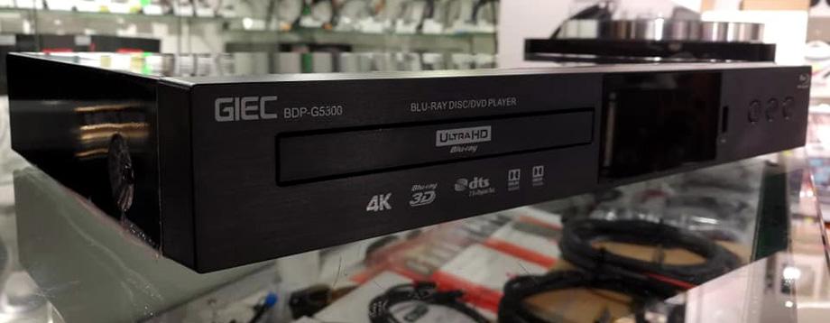 GIEC BDP-G5300 4K Ultra HD Bluray, 3D Bluray, DVD player. Affordable, Cinavia Free, Region Free, Optional Jailbreak/Mod 69526310