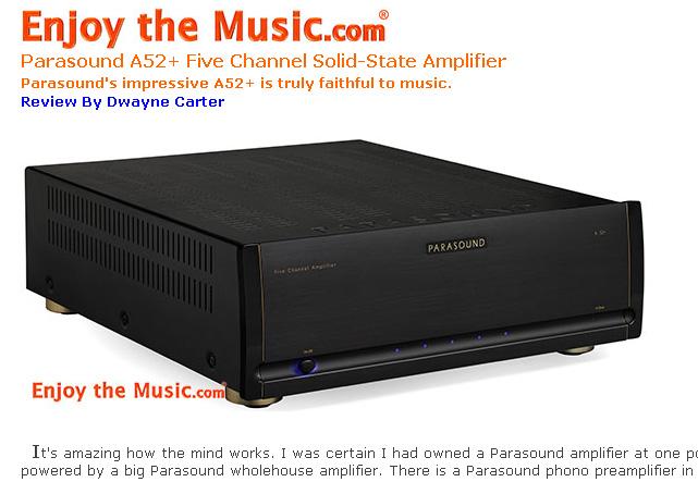 Parasound Halo A52+ Five-Channel Power Amplifier 99439810