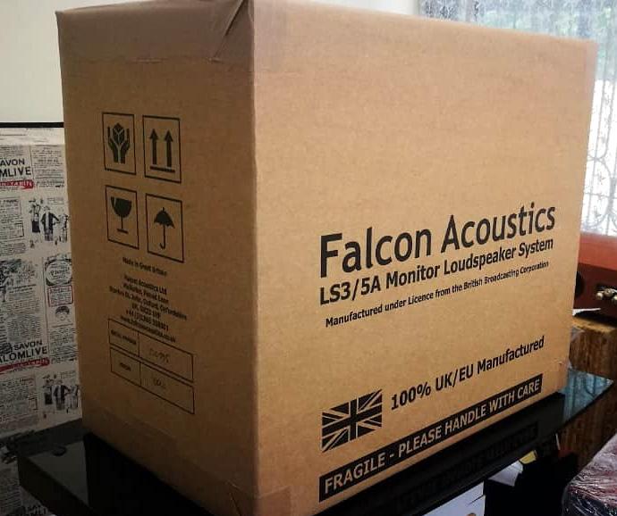 Falcon Acoustics LS3/5A BBC, Gold Badge Falcon11