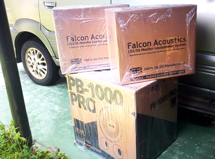 Falcon Acoustics LS3/5A BBC, Gold Badge Falcon12