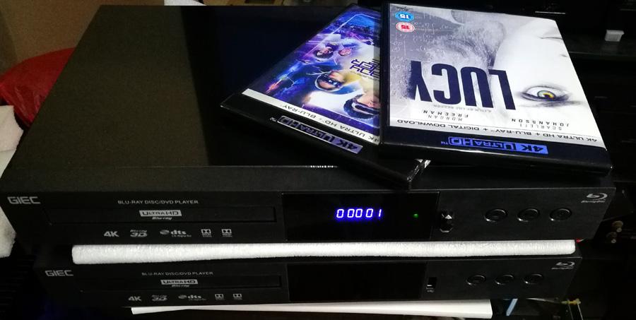 GIEC BDP-G5300 4K Ultra HD Bluray, 3D Bluray, DVD player. Affordable, Cinavia Free, Region Free, Optional Jailbreak/Mod Giec10