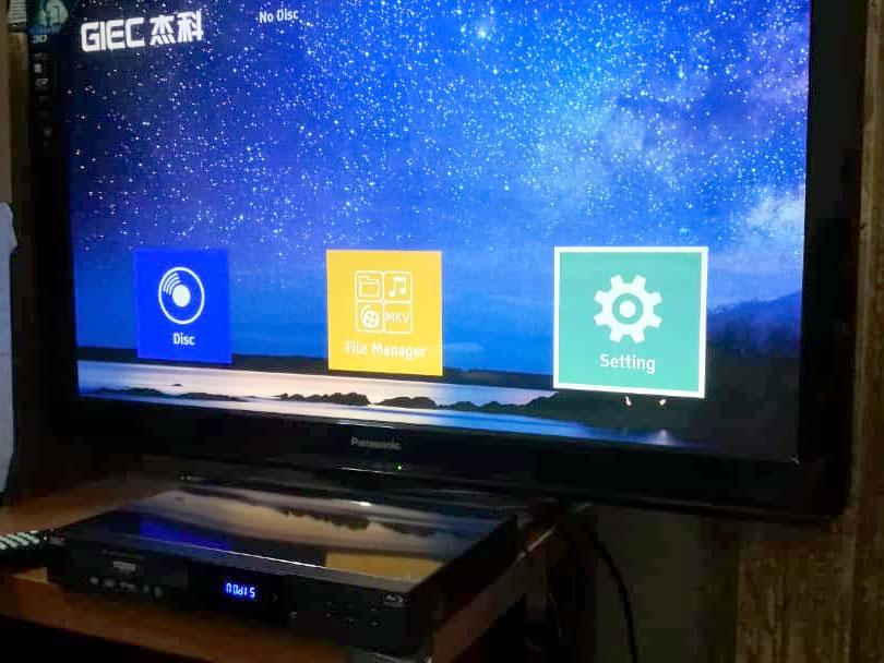 GIEC BDP-G5300 4K Ultra HD Bluray, 3D Bluray, DVD player. Affordable, Cinavia Free, Region Free, Optional Jailbreak/Mod Giec_e11