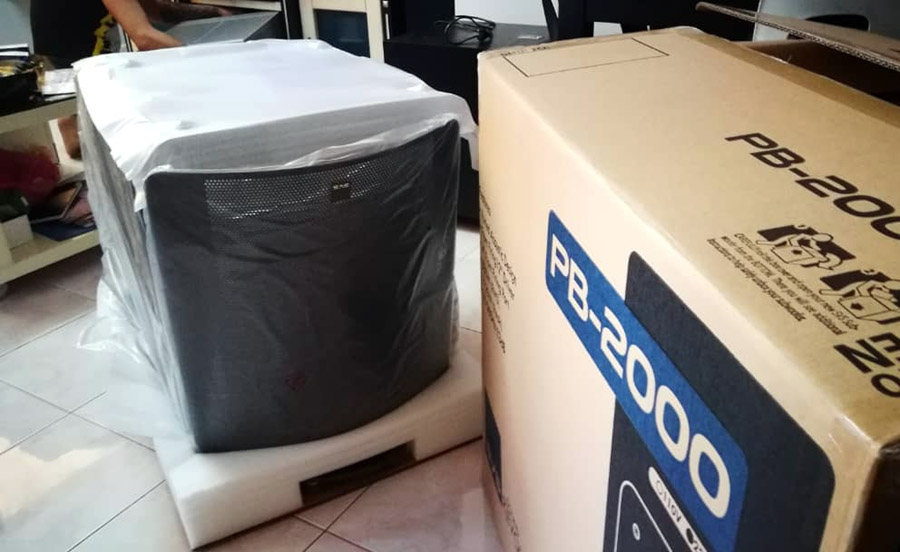 """SVS PB-2000 Subwoofer, 12"""", Ported, 500W RMS Pb200011"""