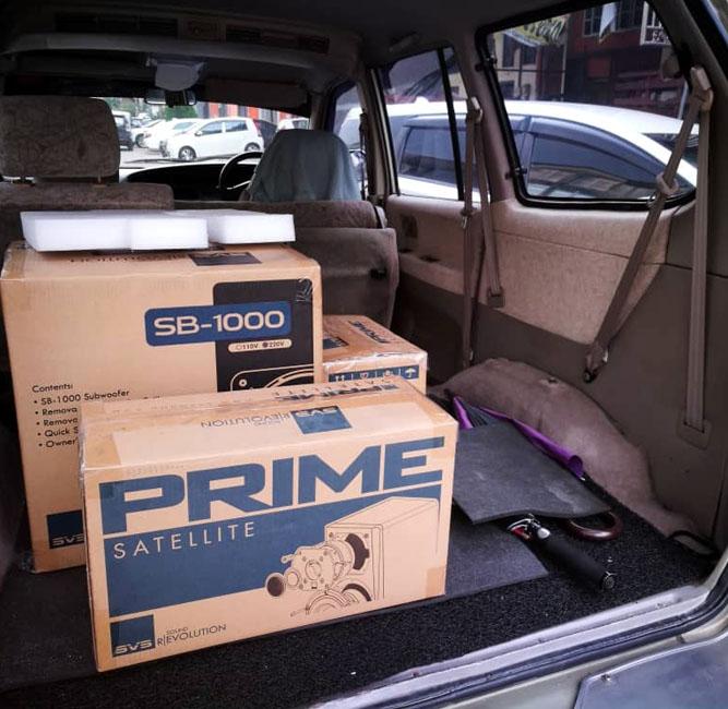 SVS Prime Satellite 5.1 Surround Sound System Svs_pr10