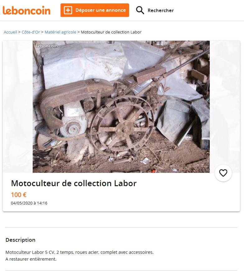 ANNONCE DESACTIVEE  Un LABOR 2T en Côte D'or  Labor10
