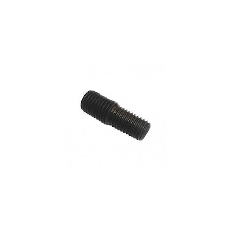 Aide pour fabrication d'un goujon M14-M12 pour porte outils chanfrein 45°  Vis10