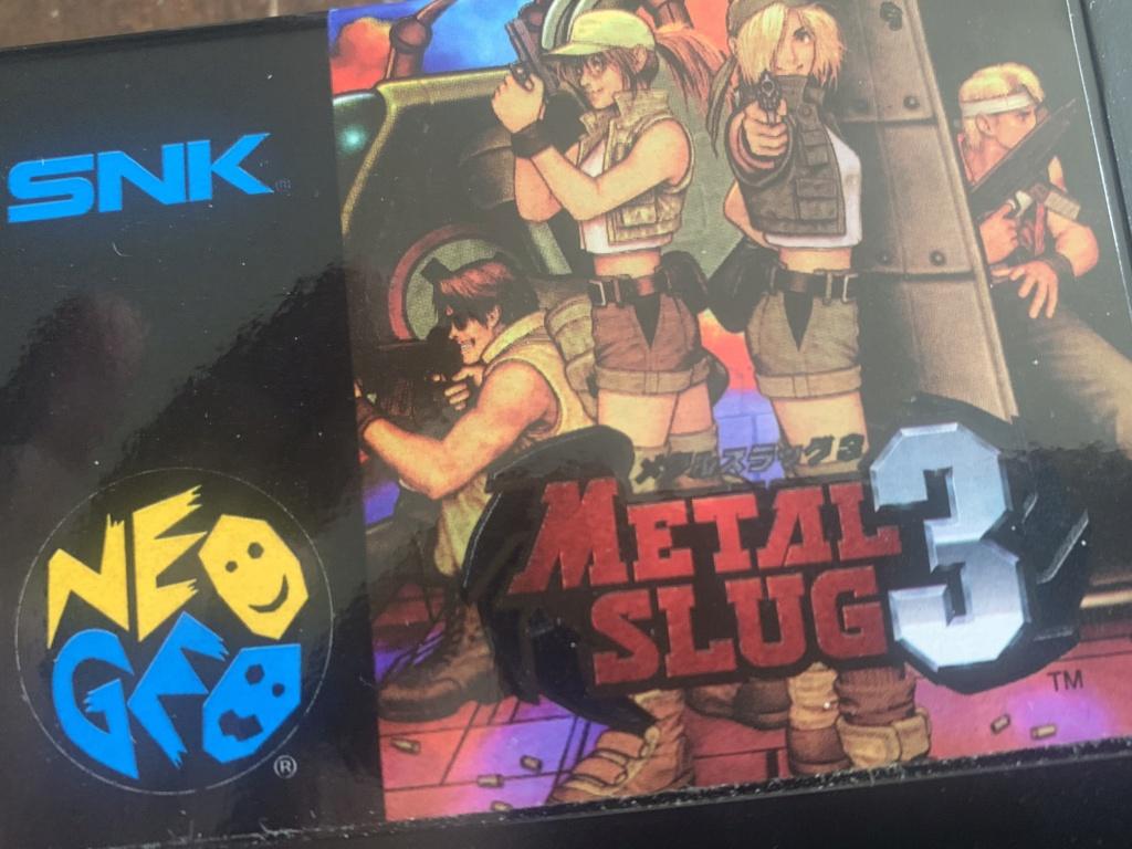 Authentification Metal Slug 3 AES JAP 1bb8ff10