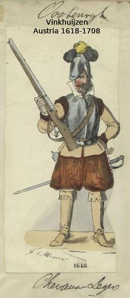 Austrian Uniforms Vinkhuijzen collection NYPL 007_au10