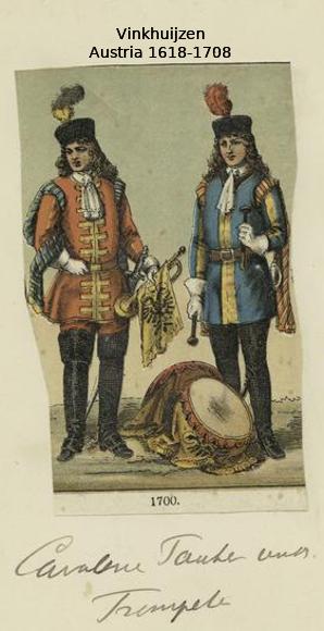 Austrian Uniforms Vinkhuijzen collection NYPL 008_au10