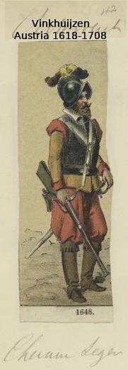 Austrian Uniforms Vinkhuijzen collection NYPL 011_au10