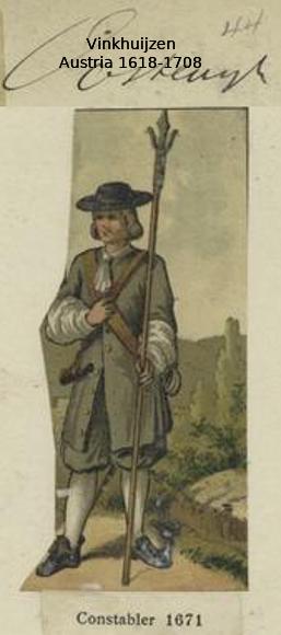 Austrian Uniforms Vinkhuijzen collection NYPL 012_au10