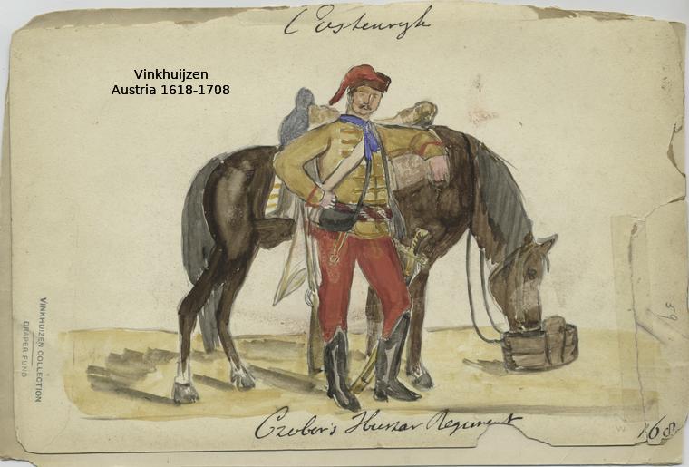 Austrian Uniforms Vinkhuijzen collection NYPL 015_au10