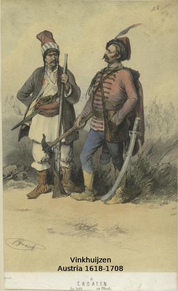 Austrian Uniforms Vinkhuijzen collection NYPL 016_au10