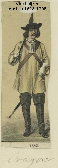 Austrian Uniforms Vinkhuijzen collection NYPL 018_au10