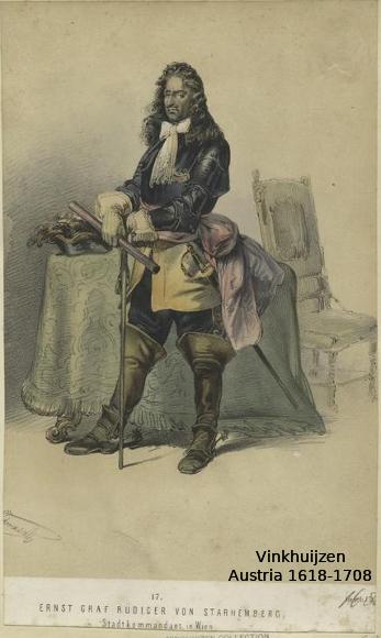 Austrian Uniforms Vinkhuijzen collection NYPL 019_au10