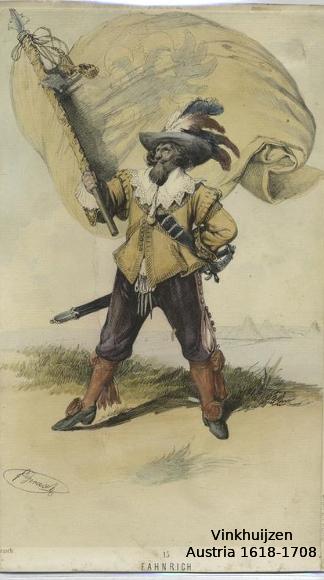 Austrian Uniforms Vinkhuijzen collection NYPL 025_au10