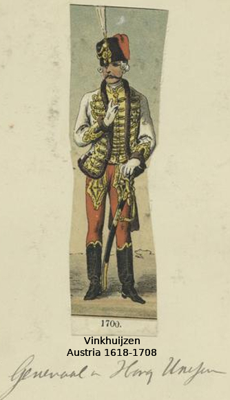 Austrian Uniforms Vinkhuijzen collection NYPL 029_au10