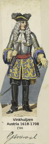 Austrian Uniforms Vinkhuijzen collection NYPL 030_au10