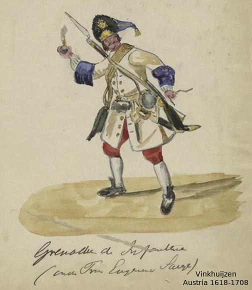 Austrian Uniforms Vinkhuijzen collection NYPL 032_au10