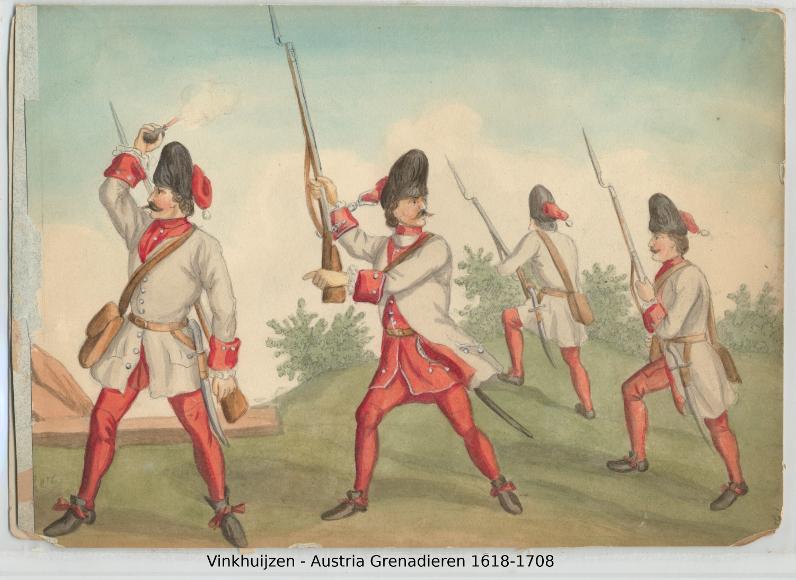 Austrian Uniforms Vinkhuijzen collection NYPL 034_au10