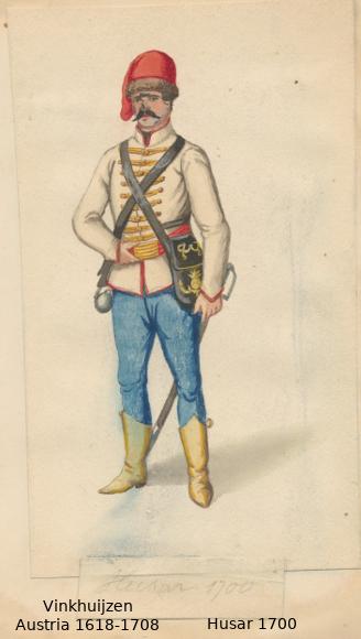 Austrian Uniforms Vinkhuijzen collection NYPL 035_au10