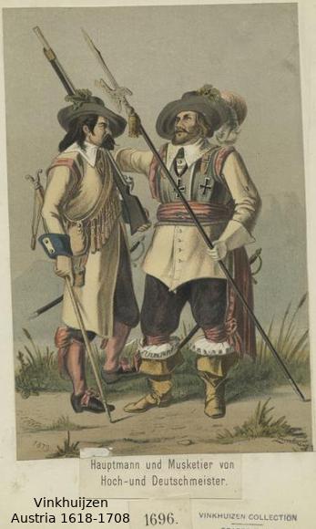 Austrian Uniforms Vinkhuijzen collection NYPL 037_au10