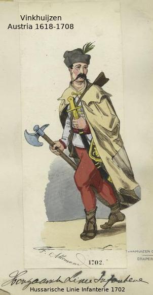 Austrian Uniforms Vinkhuijzen collection NYPL 039_au10