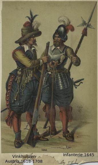 Austrian Uniforms Vinkhuijzen collection NYPL 040_au10