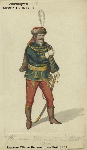 Austrian Uniforms Vinkhuijzen collection NYPL 041_au10