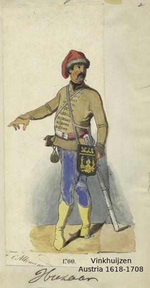 Austrian Uniforms Vinkhuijzen collection NYPL 042_au10