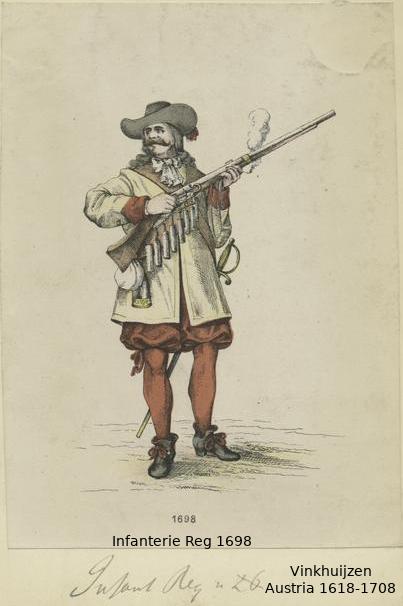 Austrian Uniforms Vinkhuijzen collection NYPL 043_au10