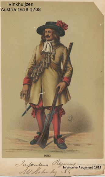 Austrian Uniforms Vinkhuijzen collection NYPL 044_au10