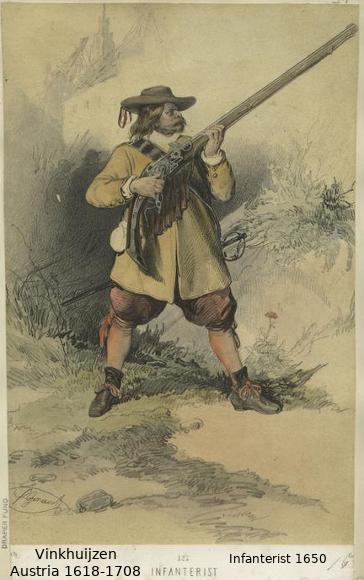 Austrian Uniforms Vinkhuijzen collection NYPL 045_au10