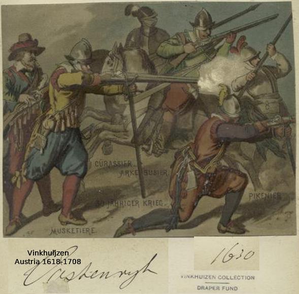 Austrian Uniforms Vinkhuijzen collection NYPL 048_au10