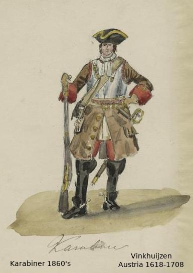 Austrian Uniforms Vinkhuijzen collection NYPL 049_au10
