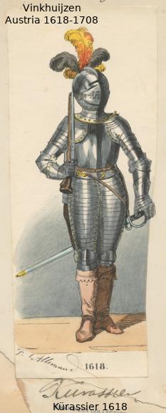 Austrian Uniforms Vinkhuijzen collection NYPL 051_au10