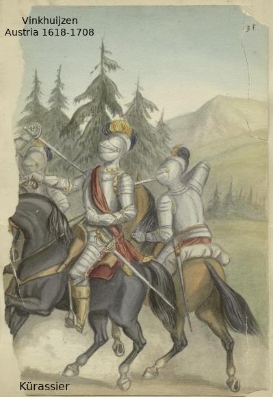 Austrian Uniforms Vinkhuijzen collection NYPL 052_au10