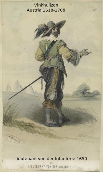 Austrian Uniforms Vinkhuijzen collection NYPL 055_au10