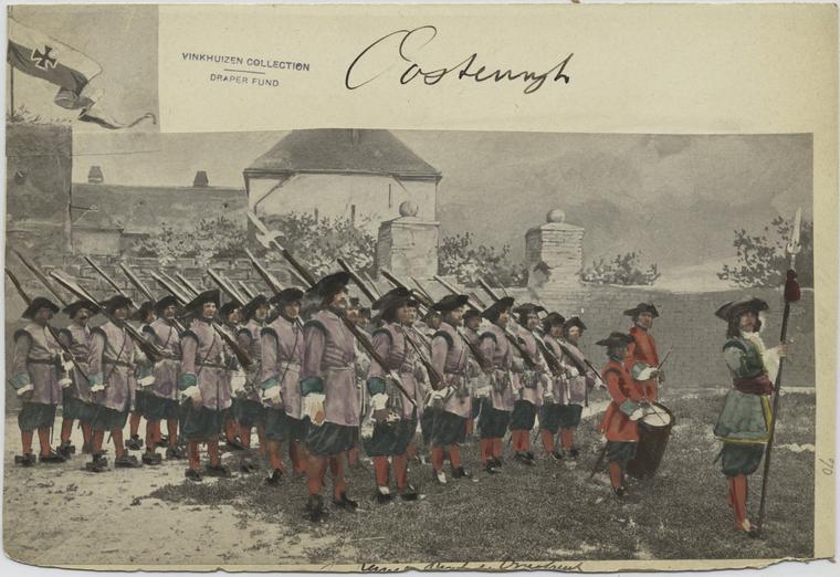 Austrian Uniforms Vinkhuijzen collection NYPL 061_au11