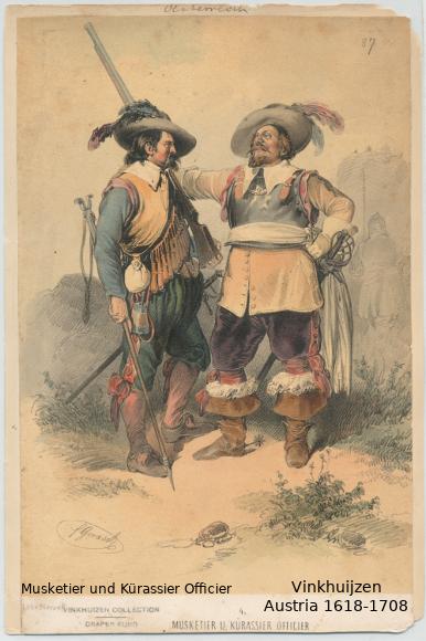 Austrian Uniforms Vinkhuijzen collection NYPL 064_au10
