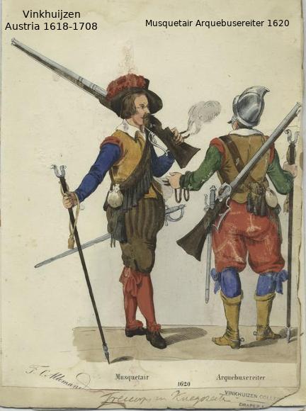 Austrian Uniforms Vinkhuijzen collection NYPL 066_au10