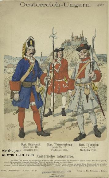 Austrian Uniforms Vinkhuijzen collection NYPL 068_au10