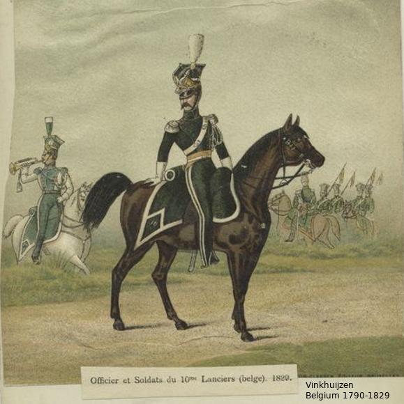 Belgium from 1330 - Vinkhuijzen collection 1790-101
